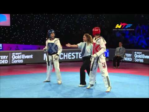 Female -57Kg Final | CALVO GOMEZ, EVA(ESP) v JONES, JADE(GBR)