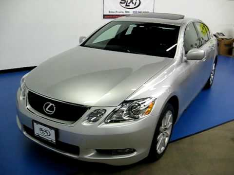 slxi cars for sale 2006 lexus gs300 awd silver sn817 youtube. Black Bedroom Furniture Sets. Home Design Ideas