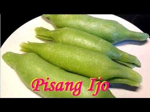Resep Pisang Ijo