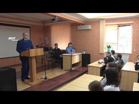 Встреча Туапсинского транспортного прокурора со студентами филиала РГУПС