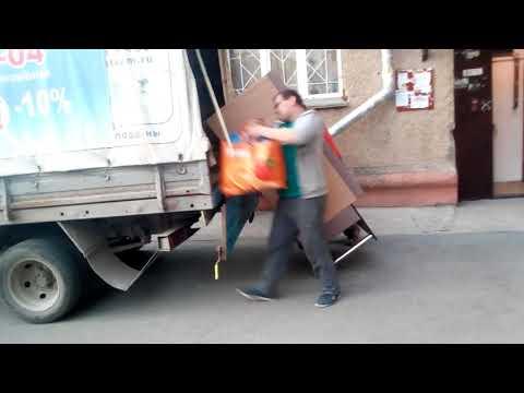 Вечерний квартирный переезд, газель грузчик Новосибирск