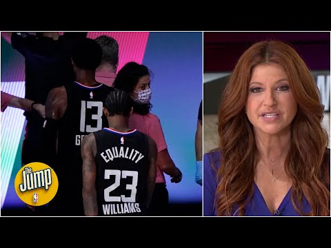 It is inexcusable that the Clippers didn't compete enough vs. Nuggets - Rachel Nichols | The Jump