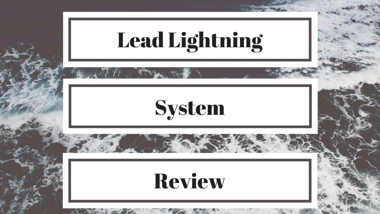lead lightning system lead lightning review youtube