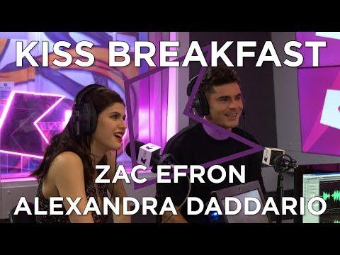 Zac Efron & Alexandra Daddario talk Baywatch, Unicorn Names and Dwayne Johnson