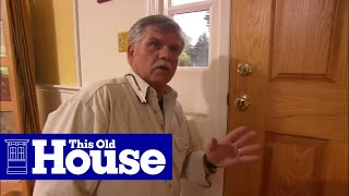 How to Weatherstrip a Wood Door - This Old House