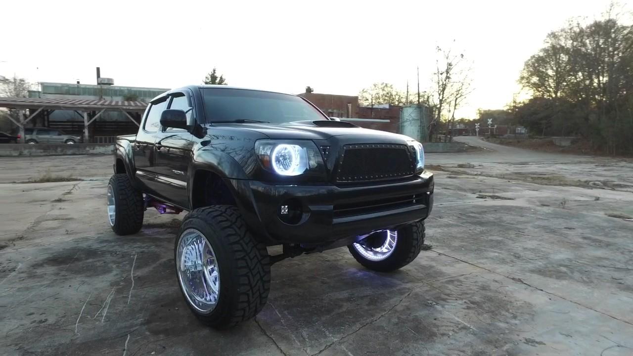 Toyota Tacoma Lifted >> Toyota Tacoma on Forces - YouTube