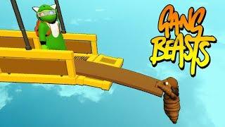 GANG BEASTS FUNTAGE #2! (Gang Beasts Funny Moments)