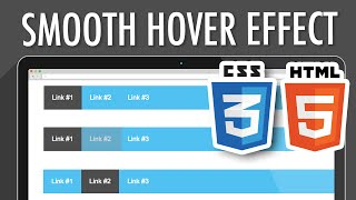 CSS3 HTML5 Smooth Link Hover Effect | XO PIXEL
