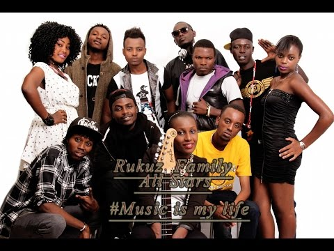 Music is my life by Rukuz Family all stars (Official Video 2016)