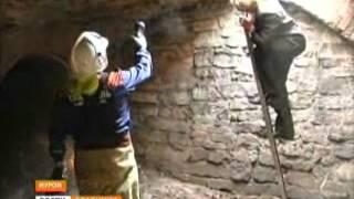 В Муроме произошел провал грунта в центре города