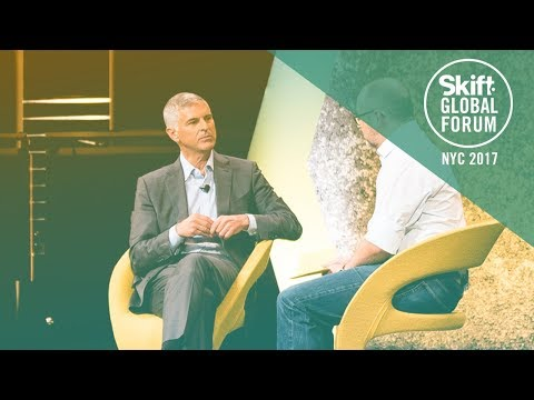 Hilton Worldwide President & CEO Christopher Nassetta at Skift Global Forum 2017