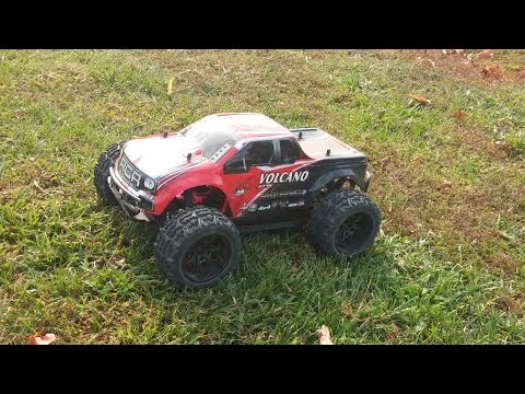 Redcat Volcano EPX 1/10 Scale Electric Monster Truck 2s Run