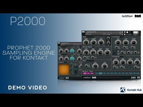 P2000 - Kontakt Library - Synth Magic