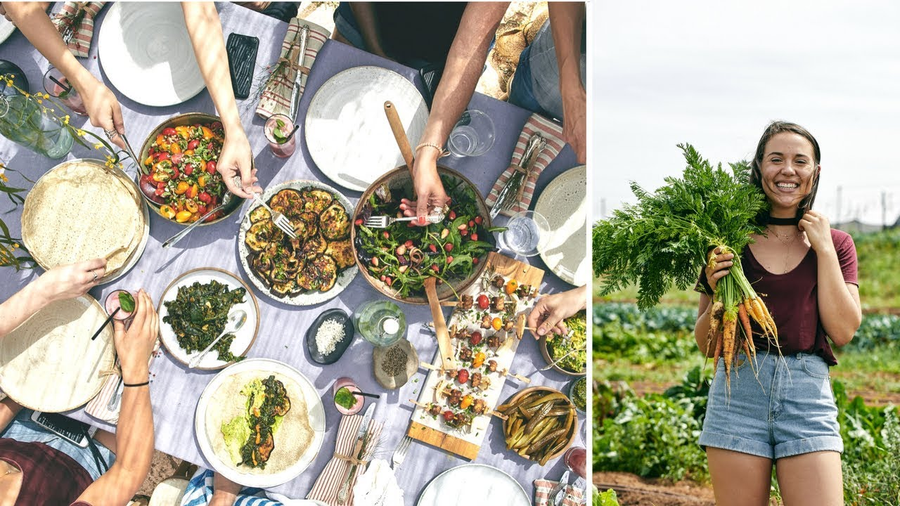 Day in My Life // Farm to Table Lunch!