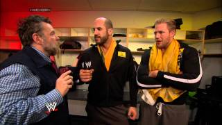 Cesaro interviews Zeb Colter and Jack Swagger