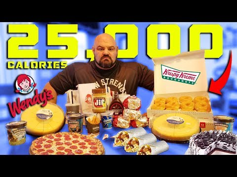 25,000 CALORIE STRONGMAN CHEAT DAY