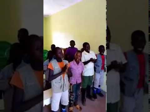 Worship WFF Moi's Bridge Kenya Children Signing 2 Jesus 2 25 2018