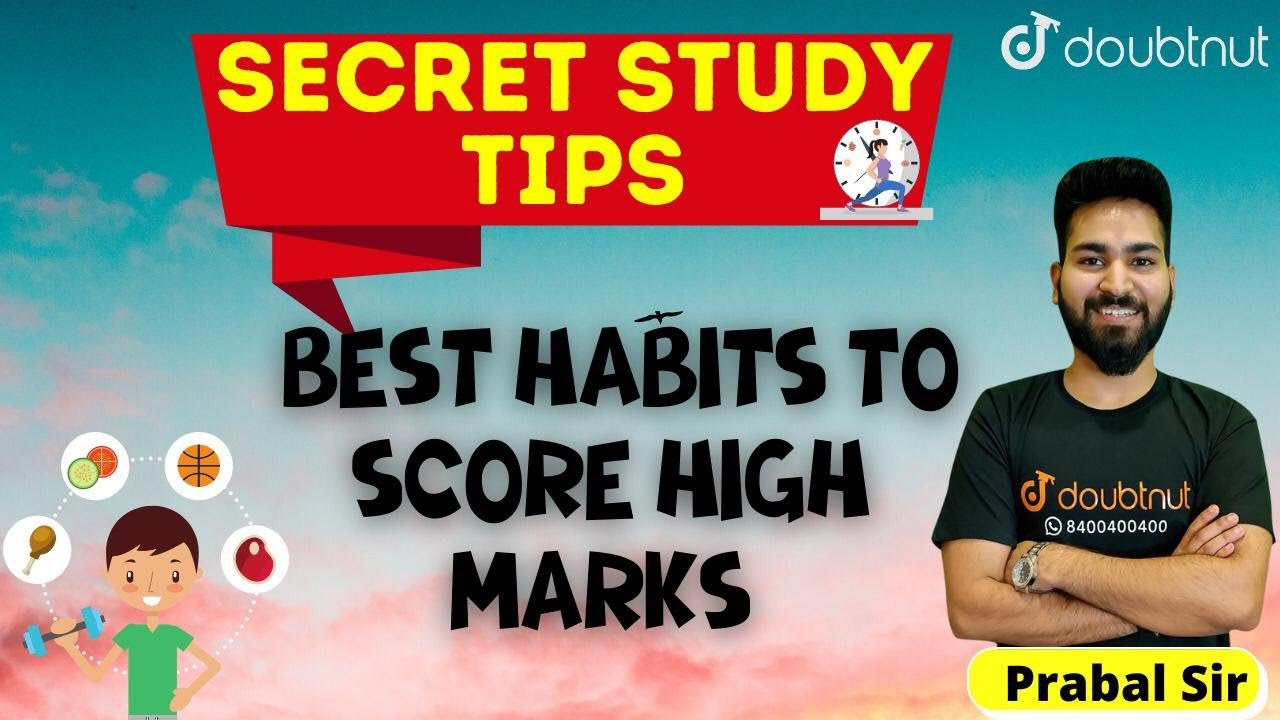 Secret Study Tips of Toppers To Score High Marks
