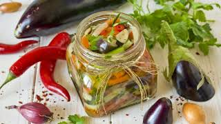 Салат из баклажанов с перцем на зиму