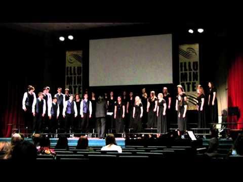 East Linn Christian Academy ELCA Choir and Viva Voce ACSI Music Festival Performance Clip