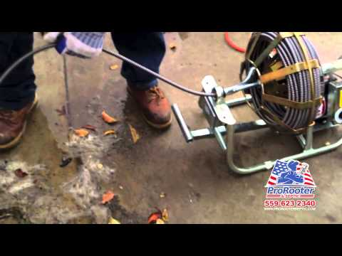 Drain Cleaning Fresno | Pro Rooter & Septic