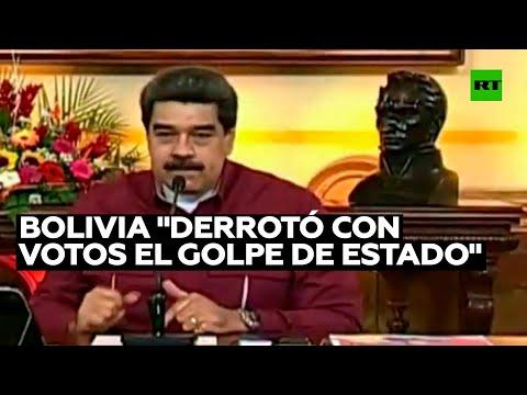 RT en Español: Maduro declara que el pueblo boliviano