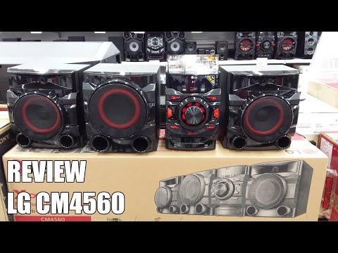 Review LG CM4560 Nueva microcadena Bluetooth 2016