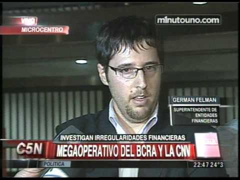 C5N - MINUTO UNO: MEGAOPERATIVO DEL BCRA Y LA CNV (PARTE 2)