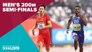 Mens 200m Semi-Finals  World Athletics Championships Doha 2019