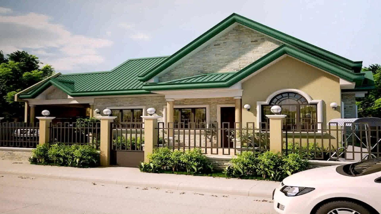 Bungalow house style in the philippines