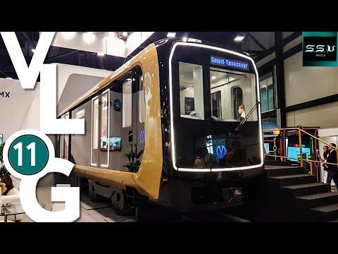 SsVMedia Vlog№11. Новый вагон метро, трамваи и автобусы, V Петербургский парад ретро-транспорта