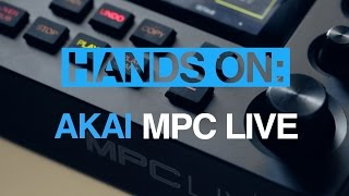 Akai MPC Live - hands-on