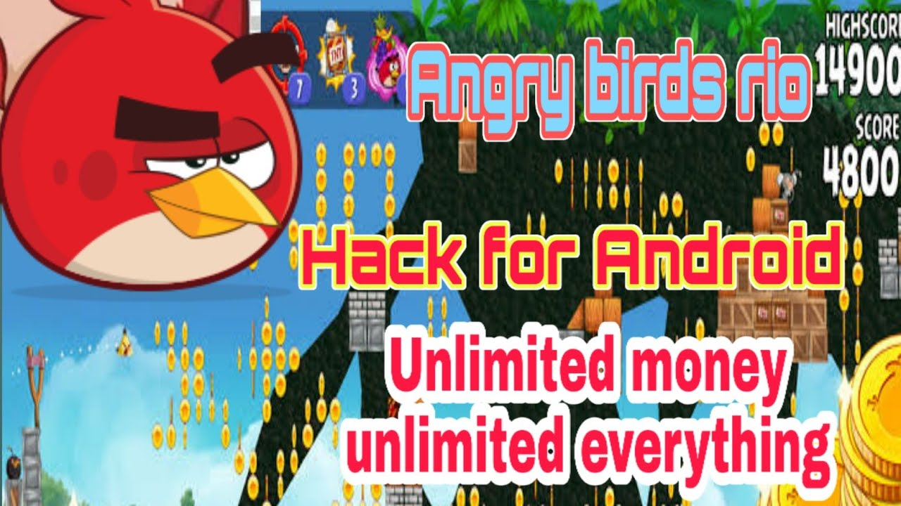 Angry birds Rio hack for download unlimited coins mod for Android unlimited  everything latestversion - YouTube