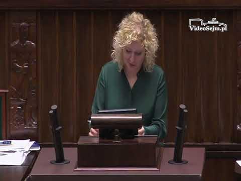 Marta Golbik – wystąpienie z 22 listopada 2017 r.