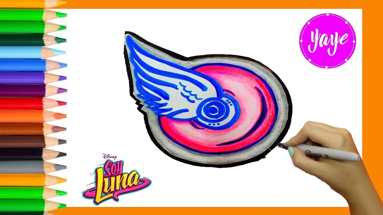 Como Dibujar Y Colorear Rueda De Soy Lunahow To Draw And Color Wheel Of Soy Luna For Kidsyaye