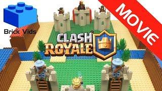 Lego Clash Royale - Lego Clash of Clans - Lego Craft Royale - Stop Motion Video - Funny Parody Movie