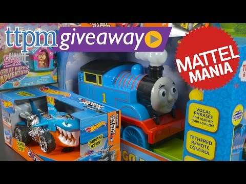 Win Hot Wheels, Barbie & Thomas Toys from Mattel at #TTPMLive