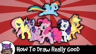 How To Draw Really Good - My Little Pony (Ponyify Yourself)