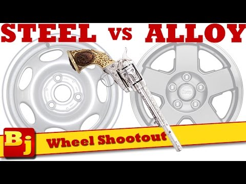 Steel VS. Alloy Wheel Shootout
