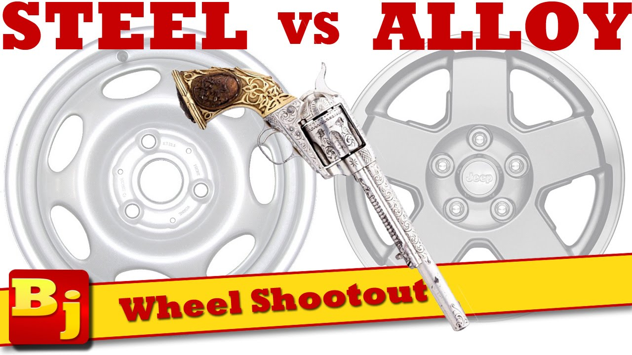 Steel vs alloy wheel shootout youtube