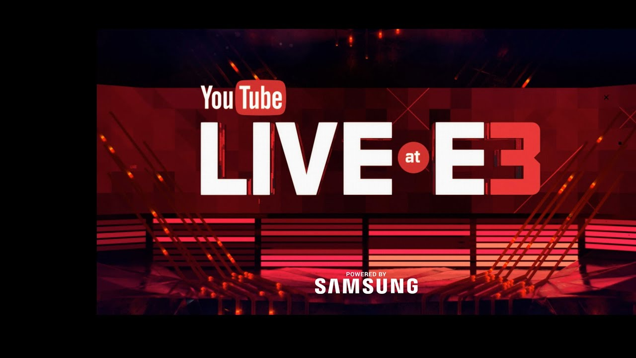 youtube live at e3 youtube gaming