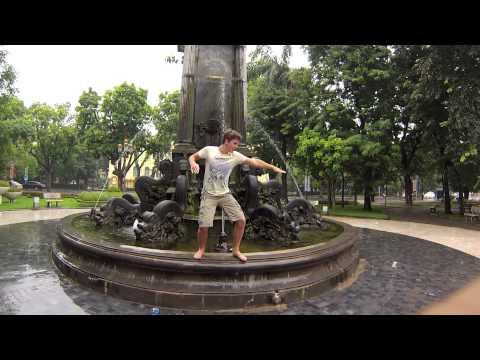 Roy en Glenn doen KungFu in Vietnam: Gopro hero 3