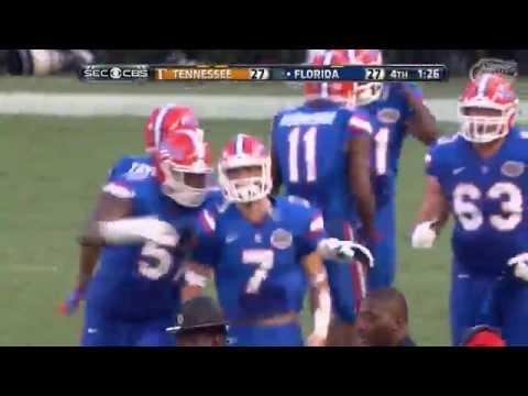 Florida Football: Gators Beat Tennessee