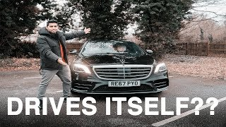 MY NEW MERCEDES *DRIVES ITSELF*....LITERALLY!! 2018 S CLASS REVIEW