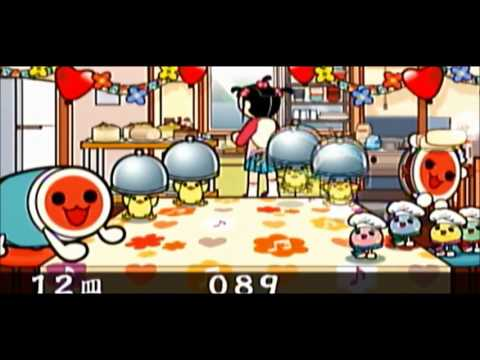【PSP Taiko no Tatsujin】minigame Sweets Panic