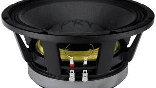 prv audio 12mr2000 high power midrange pro audio woofer