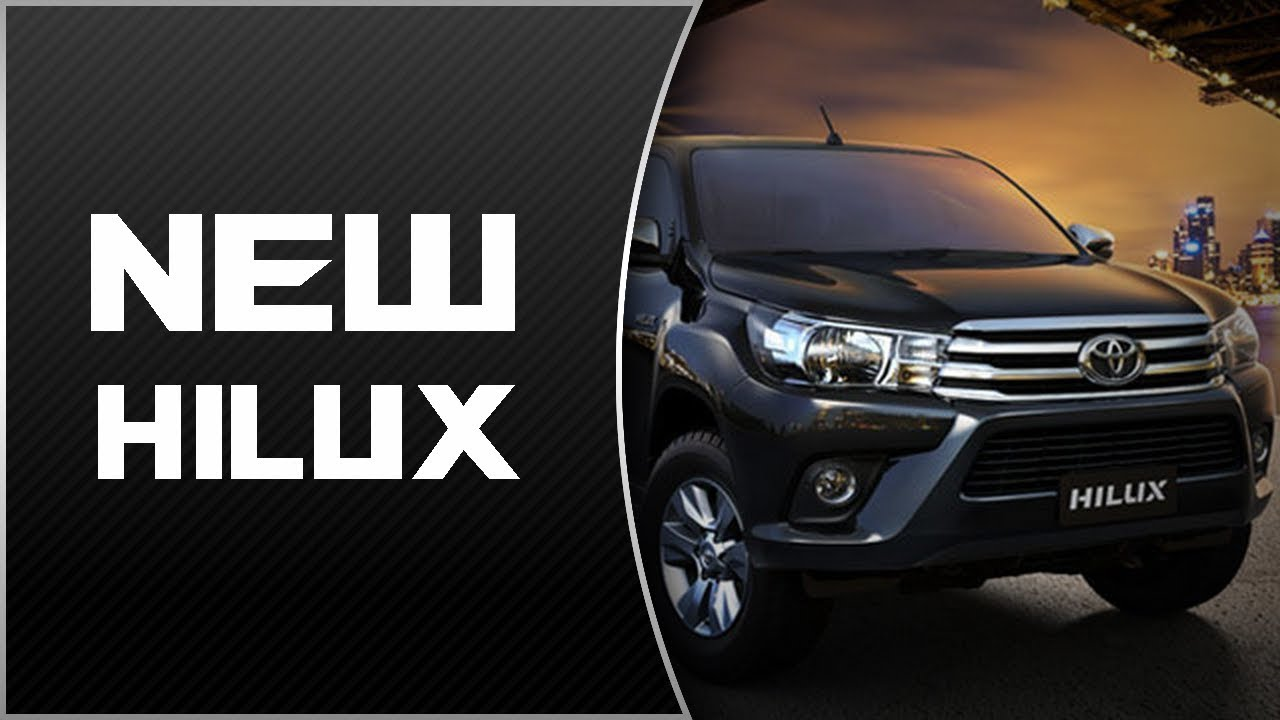 Watch Now 2019 Toyota Hilux Diesel Release And Price Youtube