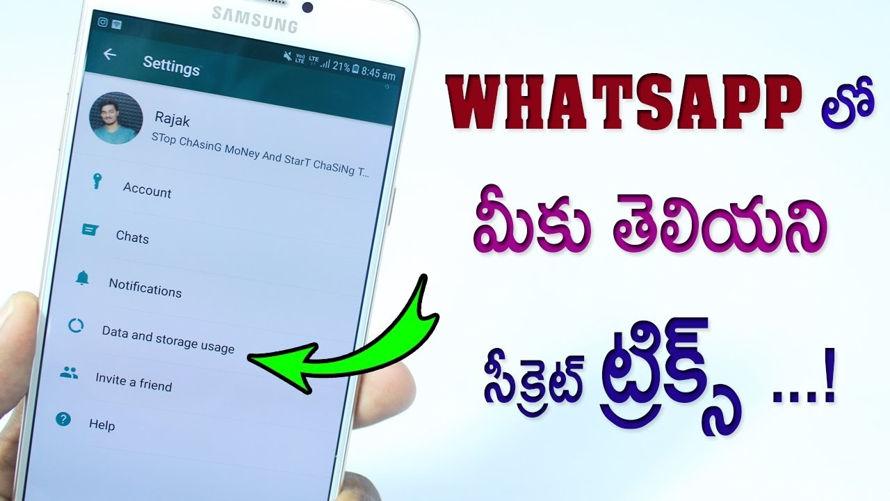 5 Secret HIDDEN New WhatsApp Tricks NOBODY KNOWS 2018 | Latest WhatsApp Hidden Features TELUGU 😎 #1