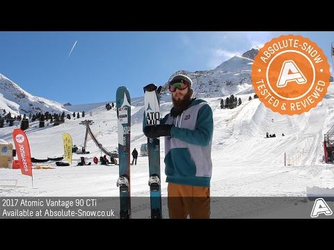 2016 / 2017   Atomic Vantage 90 CTi Skis   Video Review