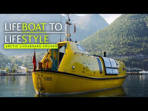 How two architects turned this cheap old lifeboat into an Arctic liveaboard cruiser - Yachting World